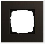 GIRA   0211127 Рамка 1-местная анодир.коричневая Esprit Gira