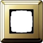 GIRA | 0211631 Рамка 1-местная латунь/латунь Classix Gira
