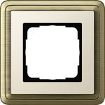 GIRA | 0211623 Рамка 1-местная бронза/крем Classix Gira