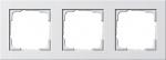 GIRA | 021322 Рамка 3-местная белый E2 Gira