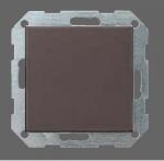 GIRA | 012626 Выключатель 1кл с самовозв унив. перекл. под алюм. Standart 55 Gira