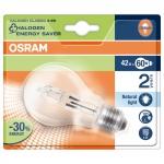 OSRAM | E27 A55  46W(=60W) проз HALOGEN  CLASSIC A CL лампа 64543 A PRO Osram 4008321998064
