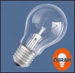 OSRAM | E27 A55 60W проз CLASSIC A CL лампа Osram 005478 d60x105