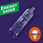 OSRAM | G9 20W (=25W) проз ES HALOPIN 66720 ES лампа Osram 4008321945273