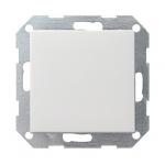 GIRA | 012627 Выключатель 1кл с самовозв унив. перекл. мат. бел Standart 55 Gira