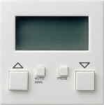 GIRA | 084103 Накладка электронного управления жалюзи глянц белый Gira