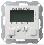 GIRA   237027 Термостат белый 230V с часами и функцией охлаждения Gira