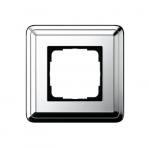 GIRA | 0211641 Рамка 1-местная silver/silver Classix Gira