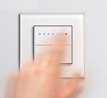GIRA | 226028 Накл Touch-Dim с LED  подсв вкл и регул яркости System2000 черный