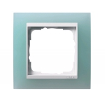 GIRA | 0213395 Рамка  3-местная зелёный белый Event Gira
