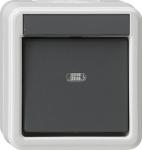 GIRA | 010630 Выключатель одноклавишный IP44 Gira