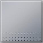 GIRA | 012665 Выключатель 1кл с самовозвратный универсальный переключатель алюминий Gira