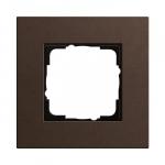 GIRA | 0211223  Рамка 1-местная MPx коричневый Esprit Gira