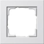 GIRA | 021129 Рамка 1-местная белый/глянец E2 Gira