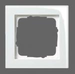 GIRA | 021229 Рамка 2-местная белый/глянец  E2 Gira