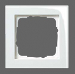 GIRA | 021429 Рамка 4-местная белый/глянец E-2 Gira
