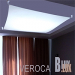 BLux VEROCA   Veroca 2 белая  ткань  B.Lux108X108