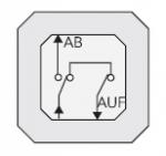 GIRA | 015900 Механизм 1кл выключателя жалюзи  Gira