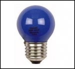 OSRAM | E27 25W синяя мат лампа накал Osram