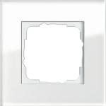 GIRA | 021112 Рамка 1-местная стекло белое Esprit Gira