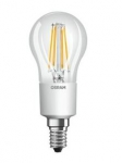 OSRAM | E14 P 4.5 (=40W)/827  DIM LED CL P40  FILLED прозрачный шарик Osram 4058075808904