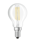 E14 P 6 (=75W)/840 LED CL P75  FILLED лампа Osram 4058075218178